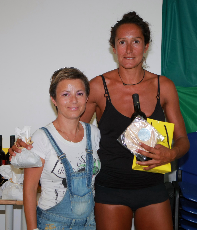 Annarita Sidoti madrina del Giro Podistico a Tappe delle Eolie