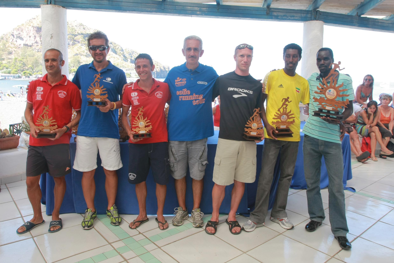 Dominio africano al Giro Podistico a Tappe delle Isole Eolie