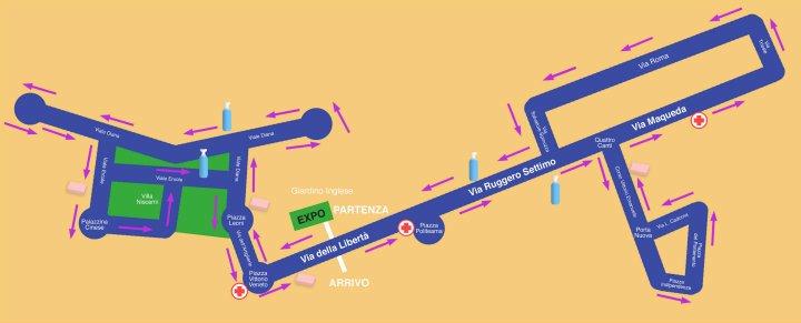 Maratona di Palermo. Il percorso