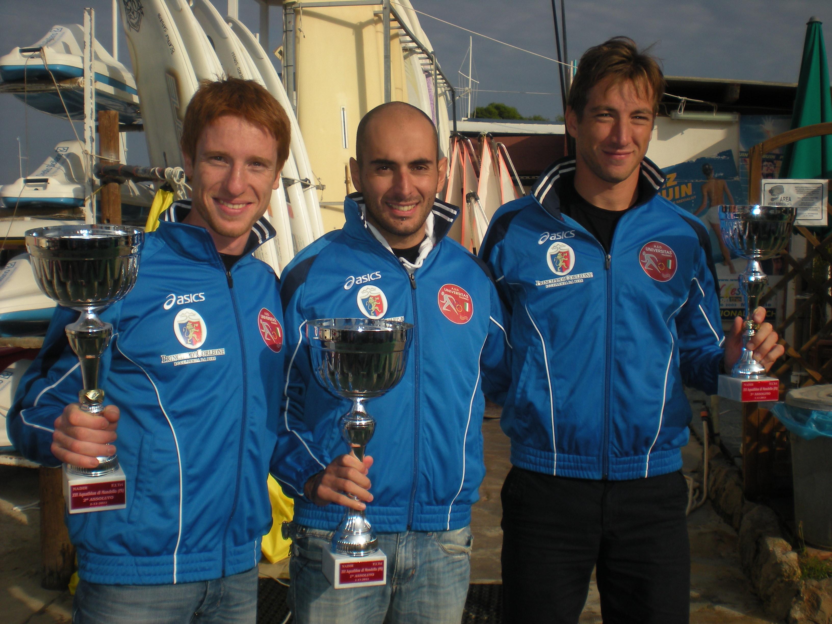 Acquathlon Internazionale di Mondello: spettacolo e podio tutto Universitas