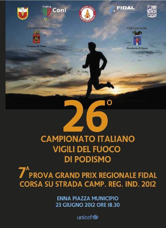 Enna ospita il Campionato Italiano dei Vigili del Fuoco e il GP Regionale