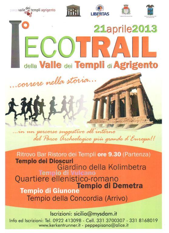 EcoTrail Valle dei Templi di Agrigento: un mese al via