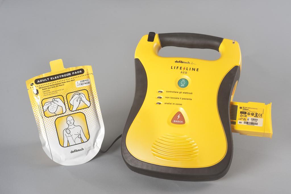 Defibrillatori obbligatori nelle societa sportive