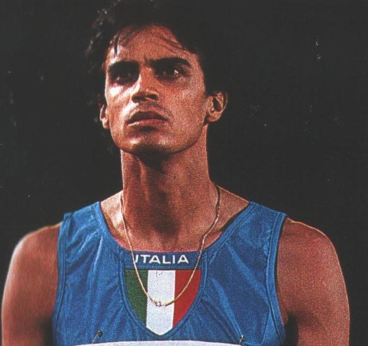 Giuseppe D Urso venti anni fa: argento negli 800 ai Mondiali di Stoccarda