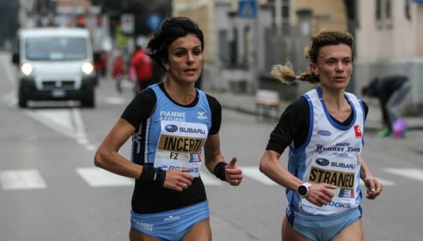 Anna Incerti ai Mondiali di mezza maratona
