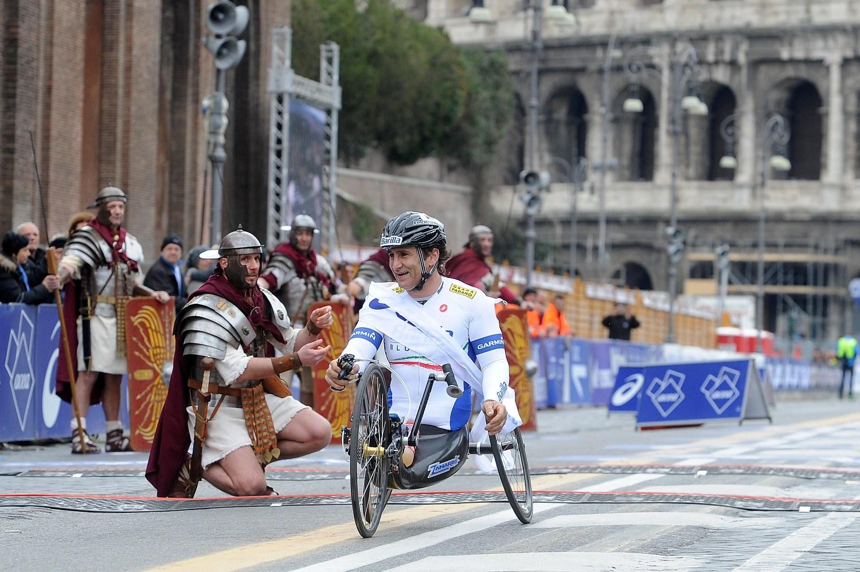 Maratona di Roma: 86 gli atleti disabili al via