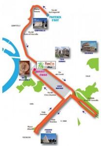 percorso romafun 5k