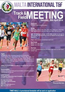 La Versa al Malta International Track&Field Meeting