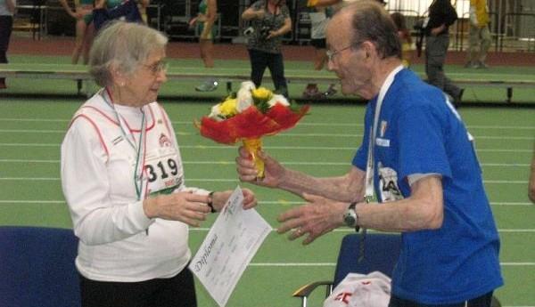 """Giuseppe Ottaviani e i suoi 97 anni: """"l'atletica è gioia"""""""