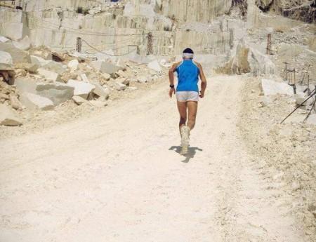 Il Mondiale di corsa in Montagna all'interno di una cava di marmo