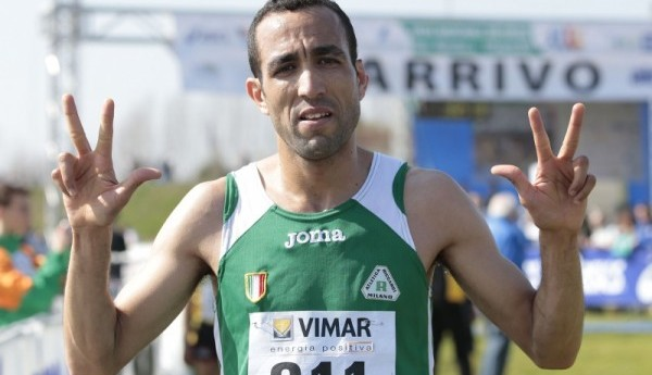 Trecastagni Star: in gara  Jamel Chatbi campione italiano di cross, 10000 e 3000 siepi