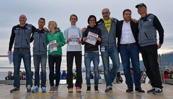 Incerti - Scaini coppia vincente alla Maratonina dei Due Castelli