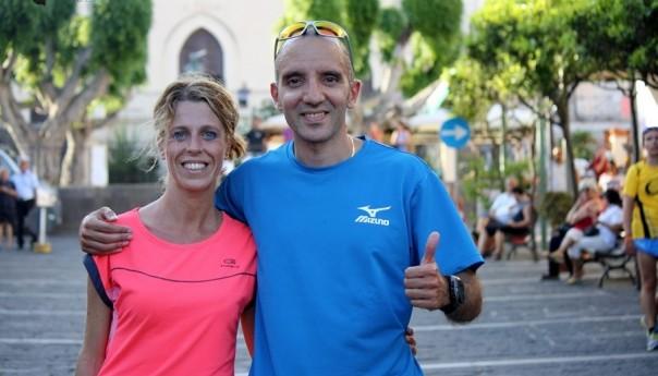 Fabio Rea e Francesca Colafati vincono la prima tappa della 3° edizione del Giro Podistico a tappe dell'isola di Ustica