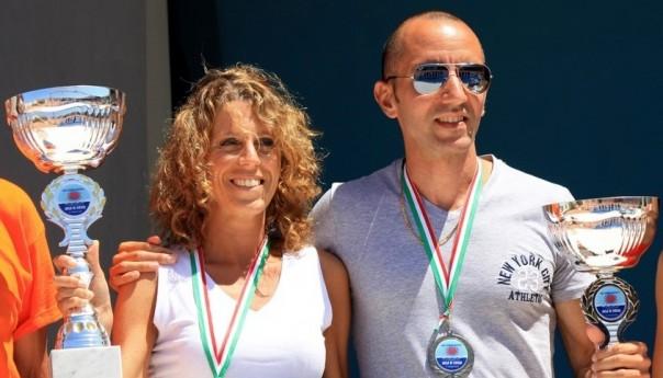 Giro a tappe dell'isola di Ustica: trionfano Fabio Rea e Francesca Colafati