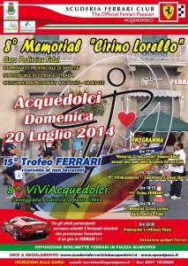Memorial Cirino Lorello: regolamento e programma