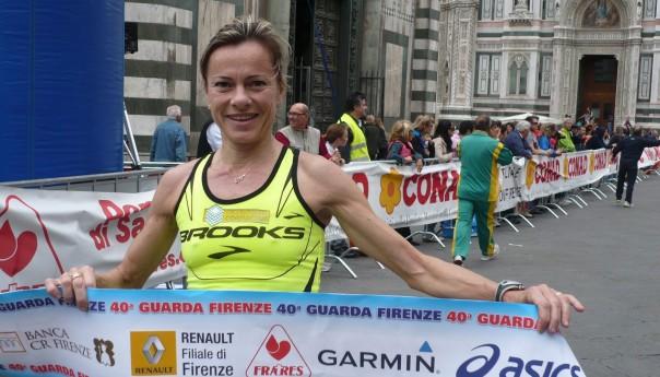 Gloria Marconi al XIV Giro podistico delle Eolie