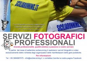 SiciliaRunning: i servizi fotografici e video