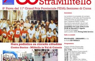Domenica si corre la 30a StraMilitello