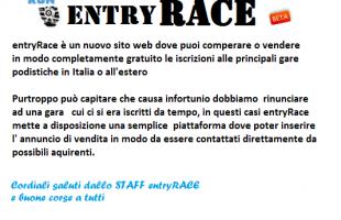 Arriva Entry Race per aiutare i podisti a non perdere le proprie iscrizioni