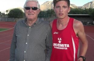Cadetti terribili: Tindaro Lisa ottiene il record regionale nei 2000 metri