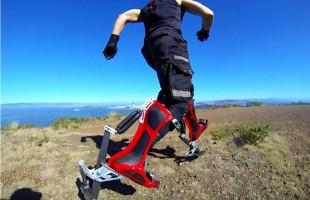 Ecco gli stivali bionici per correre a 40 km/h