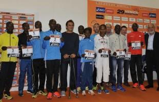 Venicemarathon: presentati i top runners. Sfida tutta africana