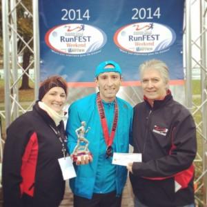 Filippo Lo Piccolo: pensieri e aspettative post The Niagara Falls International Marathon