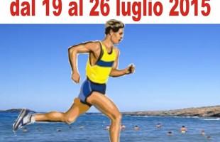 Si accendono i motori della 4a edizione del Giro podistico a tappe dell' isola di Ustica