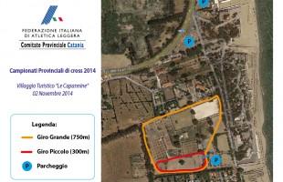 Domenica a Catania si assegnano i titoli provinciali di cross