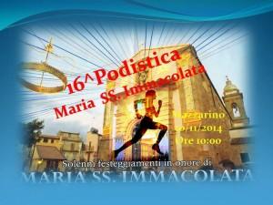 A Mazzarino per il XVI Trofeo Podistico Maria SS Immacolata