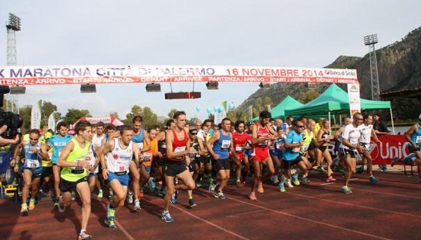 A Carmine Buccilli e Giusy Chiolo la XX Maratona Città di Palermo