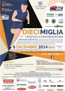 Gara podistica Diecimiglia Trofeo Confindustria