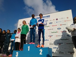 Anna Incerti seconda alla Turin Marathon 2014