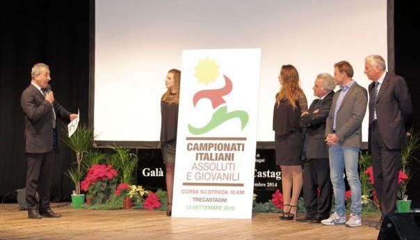 Il 9° Galà dello Sport svela il logo dei Campionati nazionali assoluti di corsa su strada