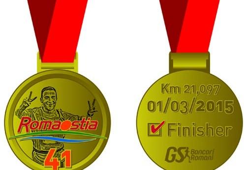 RomaOstia2015: ecco la medaglia che sarà consegnata a tutti i finisher