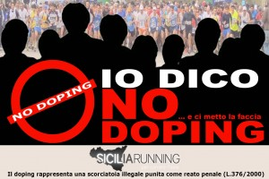 """""""Io dico no al doping … e ci metto la faccia"""": il video"""