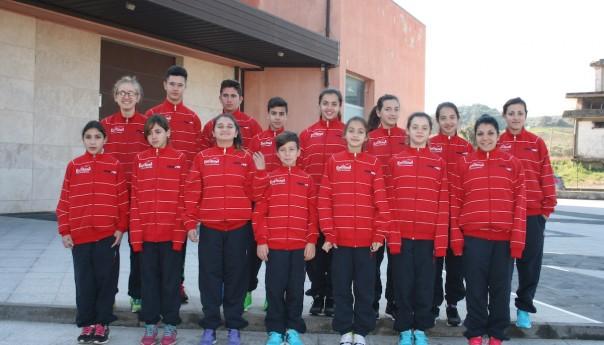 L'Etnatletica San Pietro Clarenza al Trofeo Calabria di Marcia