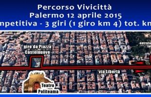 Vivicittà Palermo: nuovo percorso, decennale tradizione