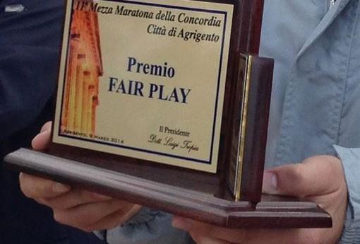 Mezza della Concordia: premio Fair Play nel ricordo di Roberto Cerasola
