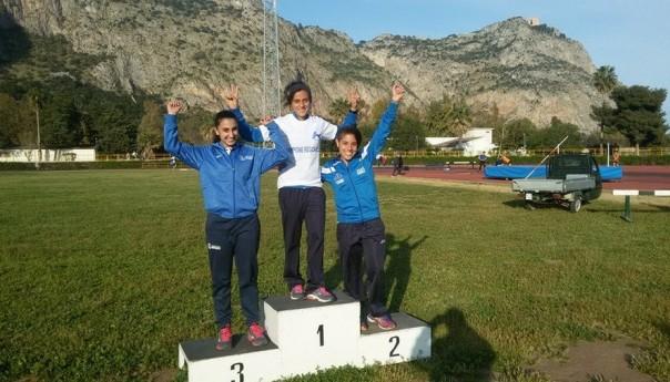 Super Giorgia Di Vara record regionale nell'Eptathlon