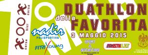 1° Duathlon della Favorita: i giovani atleti si ritrovano a Palermo