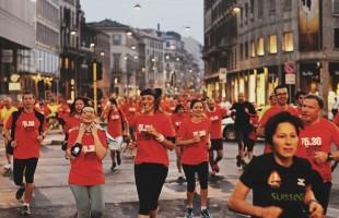 In 3.000 a Milano per correre o passeggiare all'alba con la 5.30