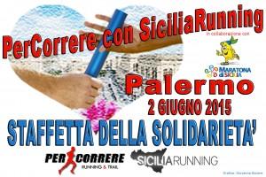 """Chi vuole """"Per-correre""""… con Siciliarunning"""" ?"""