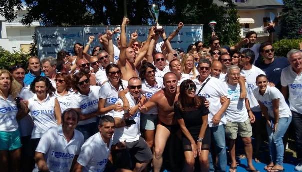 Tricolori Master 2015: trionfa la Nadir Palermo