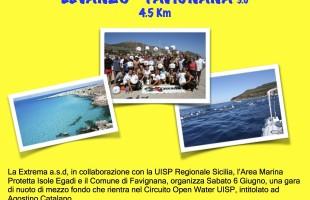 Sabato 6 giugno la Egadi Swim Race 3.0