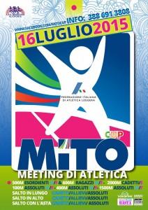 Oggi la MITO CUP meeting di atletica leggera