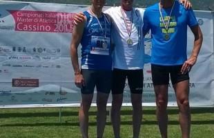 Campionati Italiani Master su pista. Michele Palermo (SM45) oro nei 400 hs