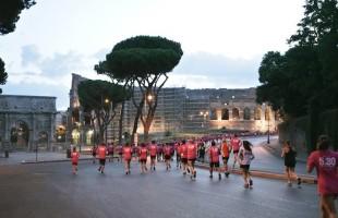 In 600 hanno corso questa mattina a Roma la 5.30