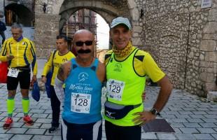 Michele D'Errico protagonista alla 50 chilometri del Gran Sasso