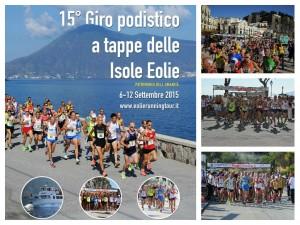 15° Giro Podistico a tappe delle Isole Eolie